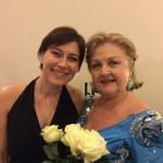 con E. Gruberova