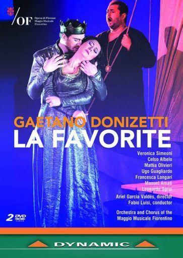 G. Donizetti, La Favorite DVD