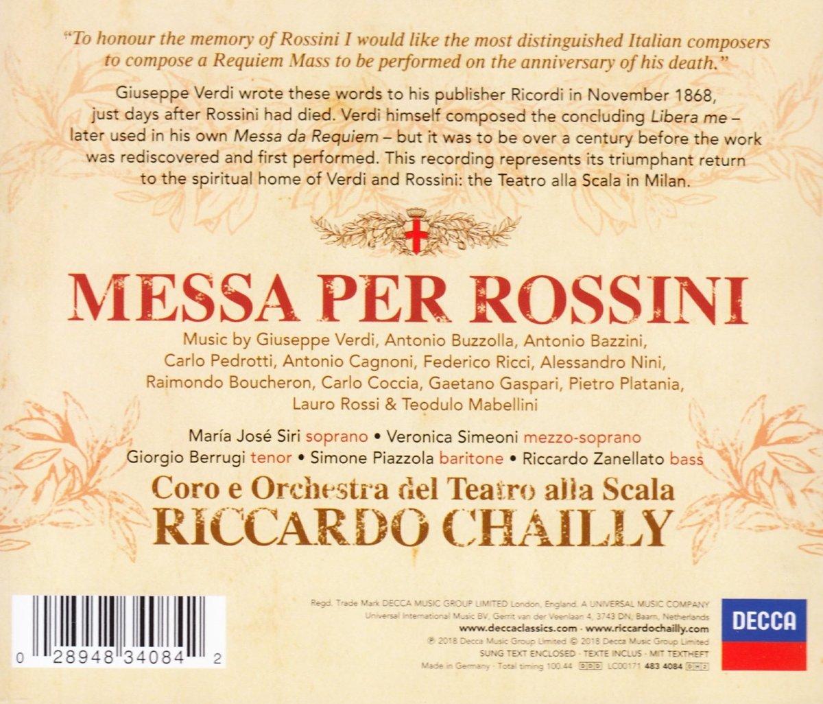 AA VV, Messa per Rossini